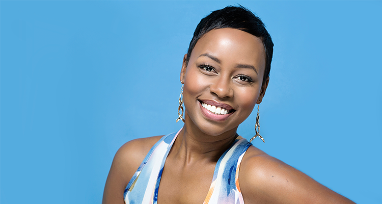 Elana Afrika-Bredenkamp replaces Katlego Maboe as the new face of Outsurance