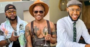 Somizi's marriage questioned as he deletes more than 20 pics of Mohale on Instagram