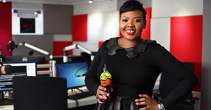 [SEE] Anele Mdoda not just a super presenter, but a super mom as well!