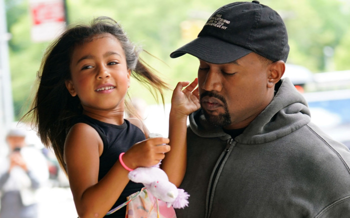 Kanye West's daughter North has daddy's creative DNA in her - check it out!