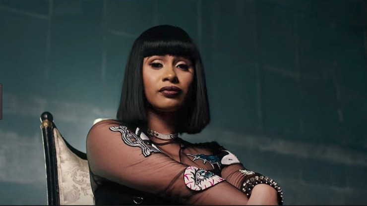 Cardi B becomes the first female rapper to hit Diamond status with her hit song Bodak Yellow
