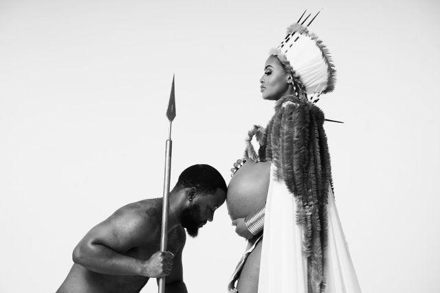The best celebrity maternity photo shoot ideas