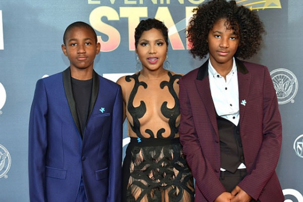 Toni Braxton's handsome boys are growing up fast - see their latest images!