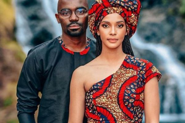 Inside Dr Musa Mthombeni and Liesl Laurie's Traditional wedding