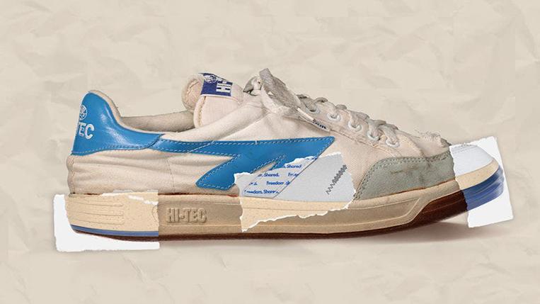 Freedom 67s: Hi-Tec recreates Mandela's sneakers for auction