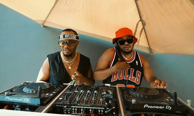Major League DJz make music in Dubai with Will.i.am, Uncle Vinny and Tyla (Video)